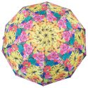 Colorful flower print Chinese umbrella