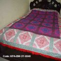 Home Made Colorful Bed Sheet