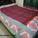 Hand Made Flower Pattern Bed Sheet