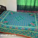 Semple Design & Light color Bed Sheet