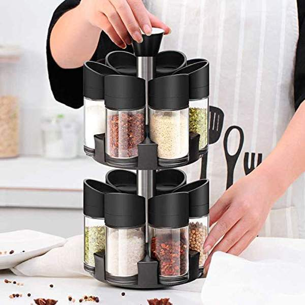 double layer pastic spice