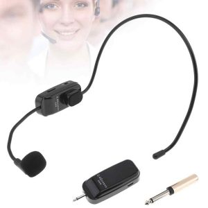 Headset wireless mic