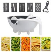 Wet Basket Vegetable Cutter wit Fashion hand gloves1